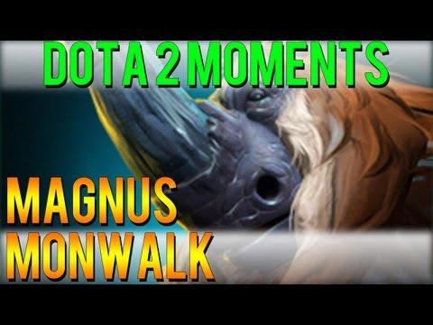 Dota 2 Moments - Magnus Moonwalk