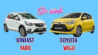 So sánh VINFAST Fadil & TOYOTA Wigo | Thị trường ô tô xe máy