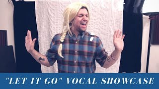 """Let It Go"" Mitch Grassi - Vocal Showcase (Eb3 - C#5)"