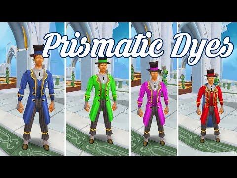 Runescape - Prismatic Dyes