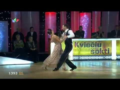 Kvieciu sokti 2011 Eimutis Kvoščiauskas ir Nerilė 1105