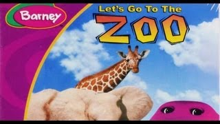 Barney Let's Go To The Zoo