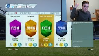 EVERY SPECIAL PACK ON FIFA 16 AT ONCE!!! Massive Fifa 16 Pack Opening