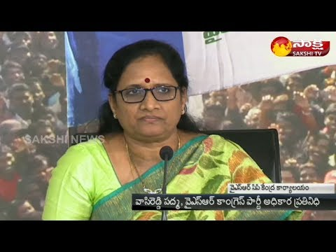 YSRCP Leader Vasireddy Padma Slams Chandrababu Over IT Raids in AP - Watch Exclusive