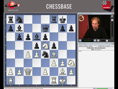ChessBase Tutorials Band 5 - Flankeneröffnungen: Holländisch Stonewall