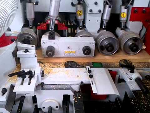 Plaina Moldureira 4 Faces 200 mm, Modelo Perfect - Marca RAZI