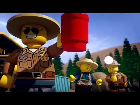 LEGO® City Gold run mini movie Music Videos