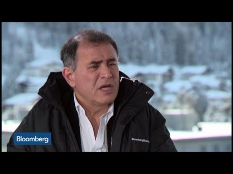 Nouriel Roubini: Crisis Is `Not Over' in Global Economy
