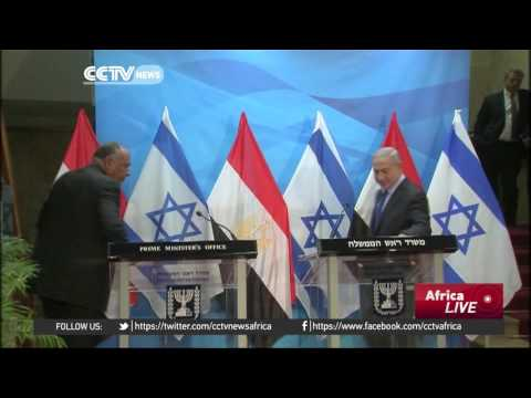 Egypt Foreign Minister calls for renewed Palestinian peace talks