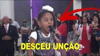 download musica Menina canta o hino Jó E veja o que aconteceu