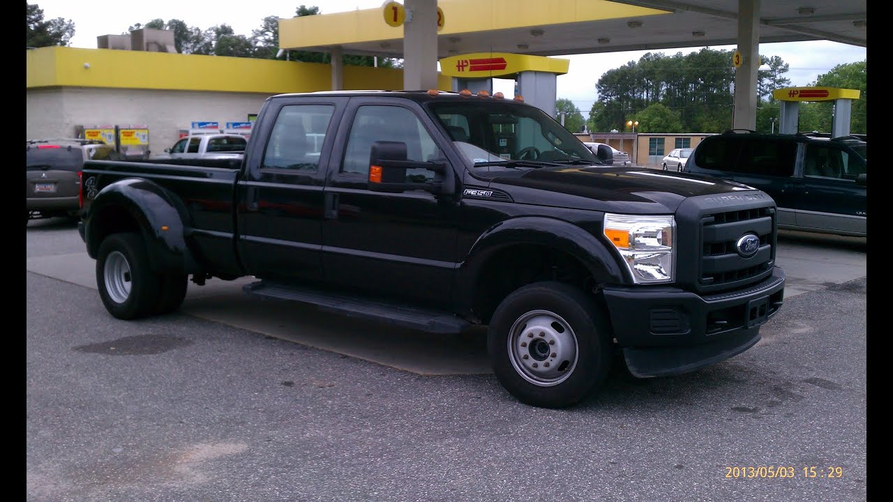 Ford F350 Dually Towing Travel