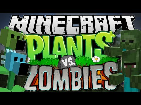 Minecraft   PLANTS vs ZOMBIES! (Pea Shooters Galore!)   Mod Showcase [1.6.2]