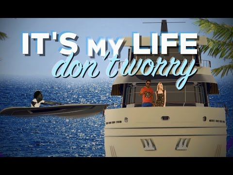 Chawki - It's My Life Feat. Dr. Alban (produced By Redone & Rush) Official Lyric Video video