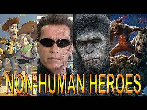 11 Best Non-Human Movie Heroes: Terminator, Guardians & More!