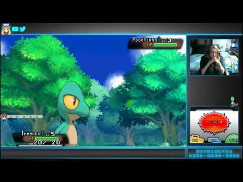 [LIVE] Shiny Starter Treecko after only 26 Soft Resets! | Pokemon Omega Ruby
