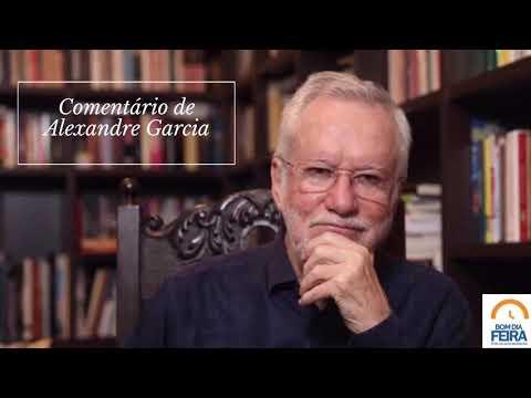 Comentário de Alexandre Garcia para o Bom Dia Feira - 05 de maio