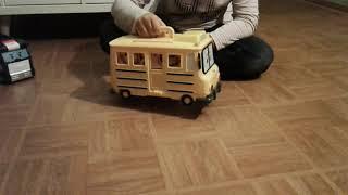 Robocar poli camion quartier général transformation transporteur totobus jouets toys juguetes