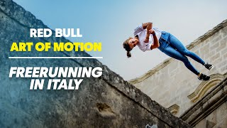 This Clifftop Town Is A Freerunners Dream | Red Bull Art of Motion 2019