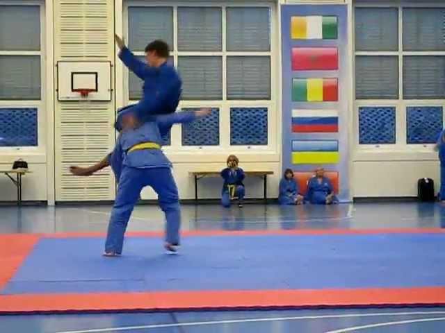 Vovinam Europameisterschaft 2012 Schweiz Don Chan Finale Jonathan 2