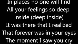 Mandy Moore- Cry with lyrics