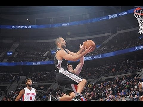 Tony Parker Drops Season-High 31 Points on Detroit