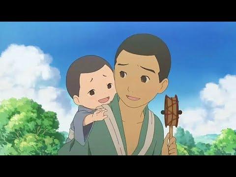 小男孩從小是孤兒,住在村長家的馬廄裏,靠幫村民幹農活換取食物