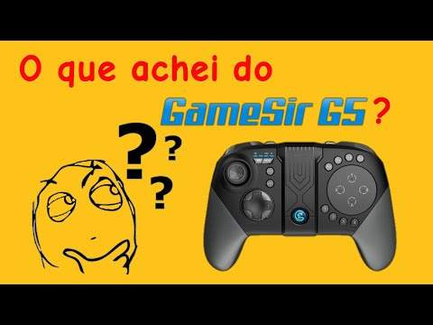 Gamesir G5 - Unboxing e minha opinião.