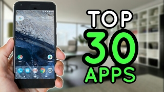 TOP 30 MEJORES APLICACIONES ANDROID 2017 - TOP DEFINITIVO DE APPS UTILES!