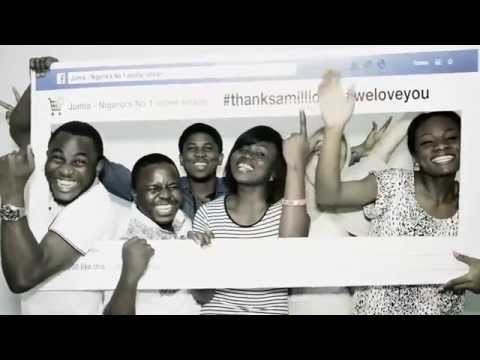 Jumia - Thank you for 1 million Fans on Facebook