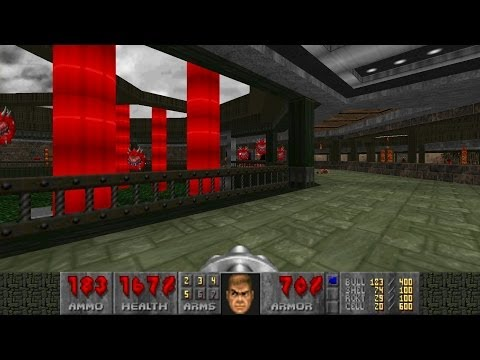 Doom2 Unholy Realms MAP 9 Metallic Bloodline UV-Max in 4:25