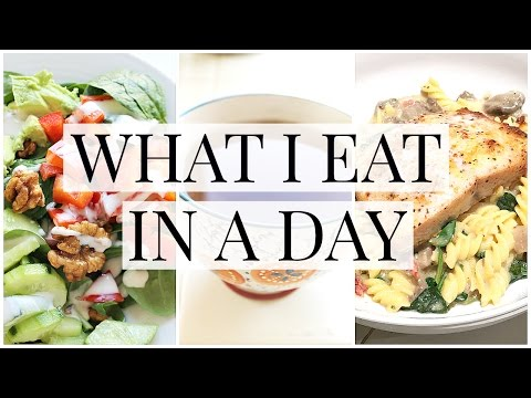 What I Eat in a Day (Gluten Free Meal + Snack Ideas) | Kendra Atkins