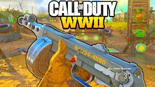 "PPSH DUCK SOUP II IS AMAZING in CALL OF DUTY WW2! COD WW2 ""PPSH DUCK SOUP II"" BEST CLASS COD WW2!"