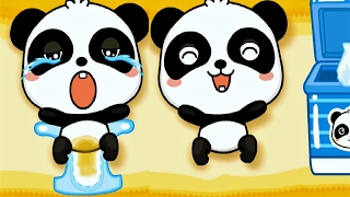 Baby Panda Care Fun - Play With Cute Baby Animations, Fun Educational Game For Kids