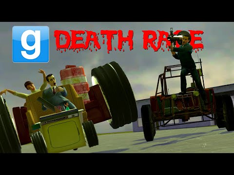Gmod DEATH RACE! Sandbox Shenanigans