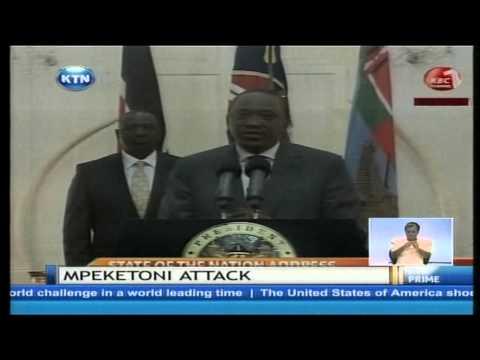 President Uhuru rules out Al-Shabaab on the Mpeketoni attack