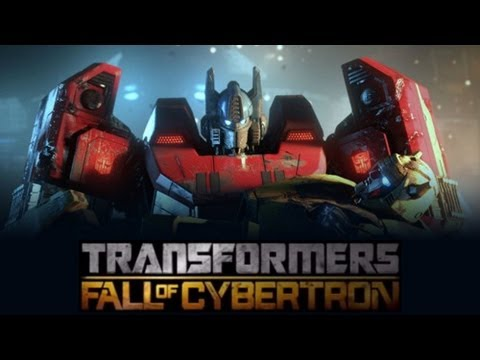 Transformers Fall of Cybertron (Game Movie-Full Length) 1080p...