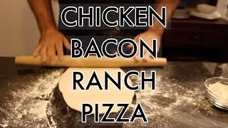BEST CHICKEN BACON RANCH PIZZA | YUMMY HERO