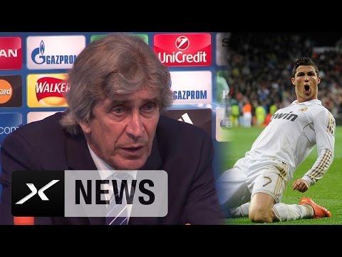 "Manuel Pellegrini: Real Madrid im Nachteil? ""Denke nicht"" | Manchester City - Real Madrid 0:0"