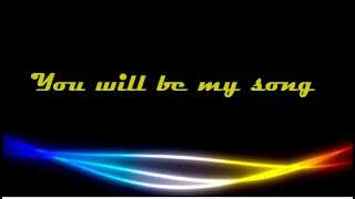 """You will be my Song"" - Don Moen (Lyrics)"