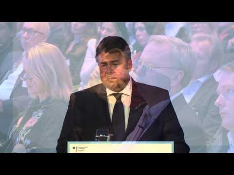 Rede von Bundesminister Sigmar Gabriel