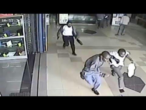 Thieves caught on Cctv camera in Nairobi