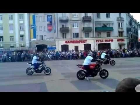 Performing motorcycles