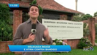 Delegada da Polícia Federal reage e atira contra assaltante em Curitiba