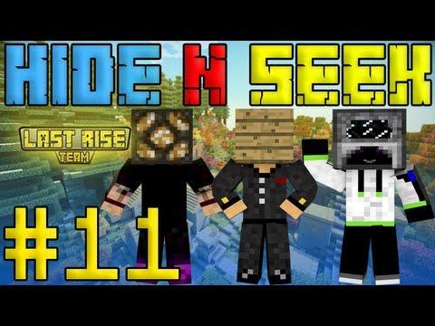 Minecraft Прятки / Hide N Seek #11 - Четыре раунда [LastRise]
