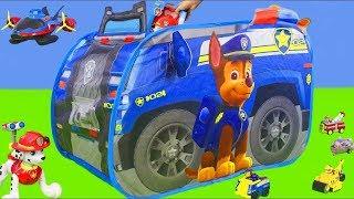 Psi Patrol po polsku: Chase, cięzarówka, strażak Marshall | Psi patrol dla dzieci