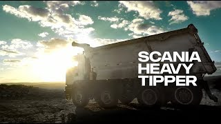 The Scania Heavy Tipper