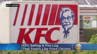 KFC Selling Firelog That Smells Like Fried Chicken