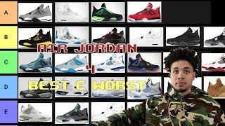 TIER LIST of the BEST & WORST AIR JORDAN 4s