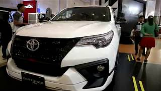 New Toyota Fortuner TRD Sportivo 2019 ,White colour ,Exterior and Interior