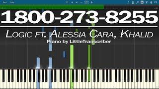 Download Lagu Logic ft. Alessia Cara, Khalid - 1-800-273-8255 (Piano Cover) by LittleTranscriber Gratis STAFABAND